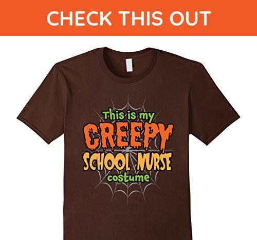 Mens Creepy School Nurse Costume Premium Halloween T-Shirt