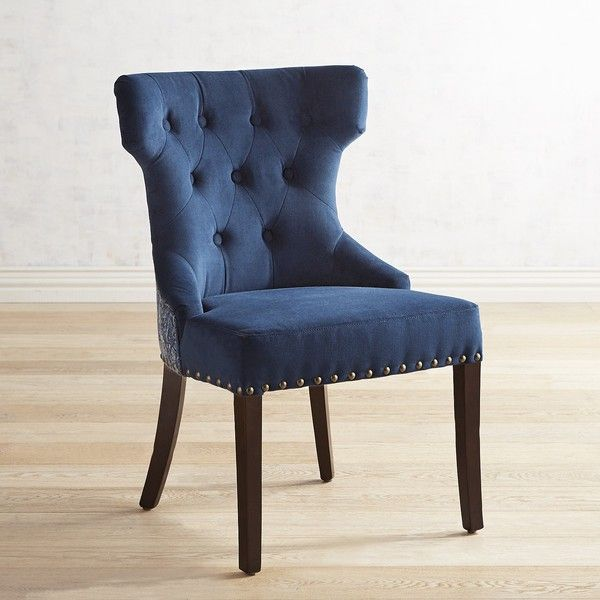 Pier 1 Imports Hourglass Indigo Dining Chair 230 Liked On