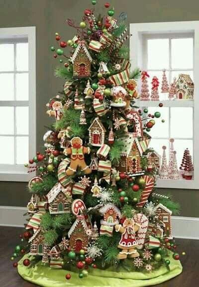 Gingerbread Man Tree Christmas Tree Themes Gingerbread Christmas Tree Christmas Tree