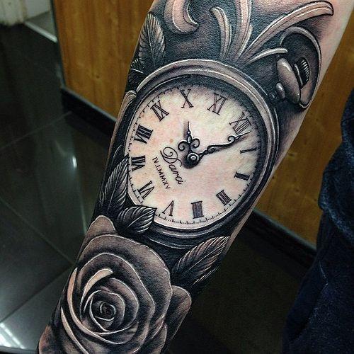 Pin De Fercho Garces En Tatuajes Reloj Tiempo Pinterest Tatouage