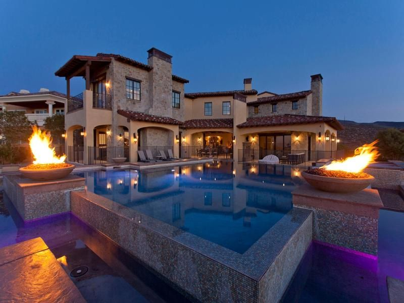 CLASSIC MEDITERRANEAN BLENDED WITH MODERN LUXURIES   Nevada Luxury Homes    Mansions For Sale   Luxury