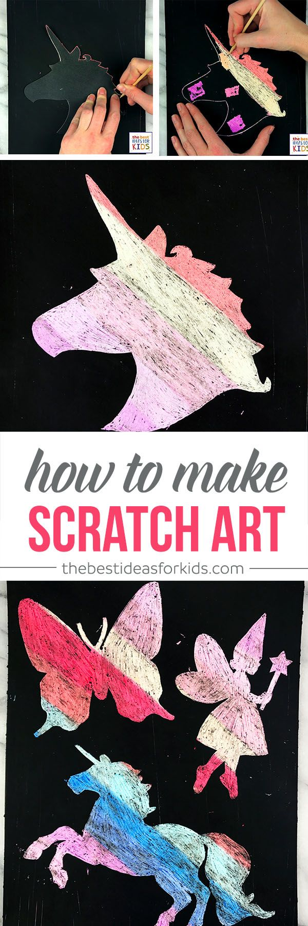 Scratch Art For Kids Craft Pinterest Silhouette Pictures Kids