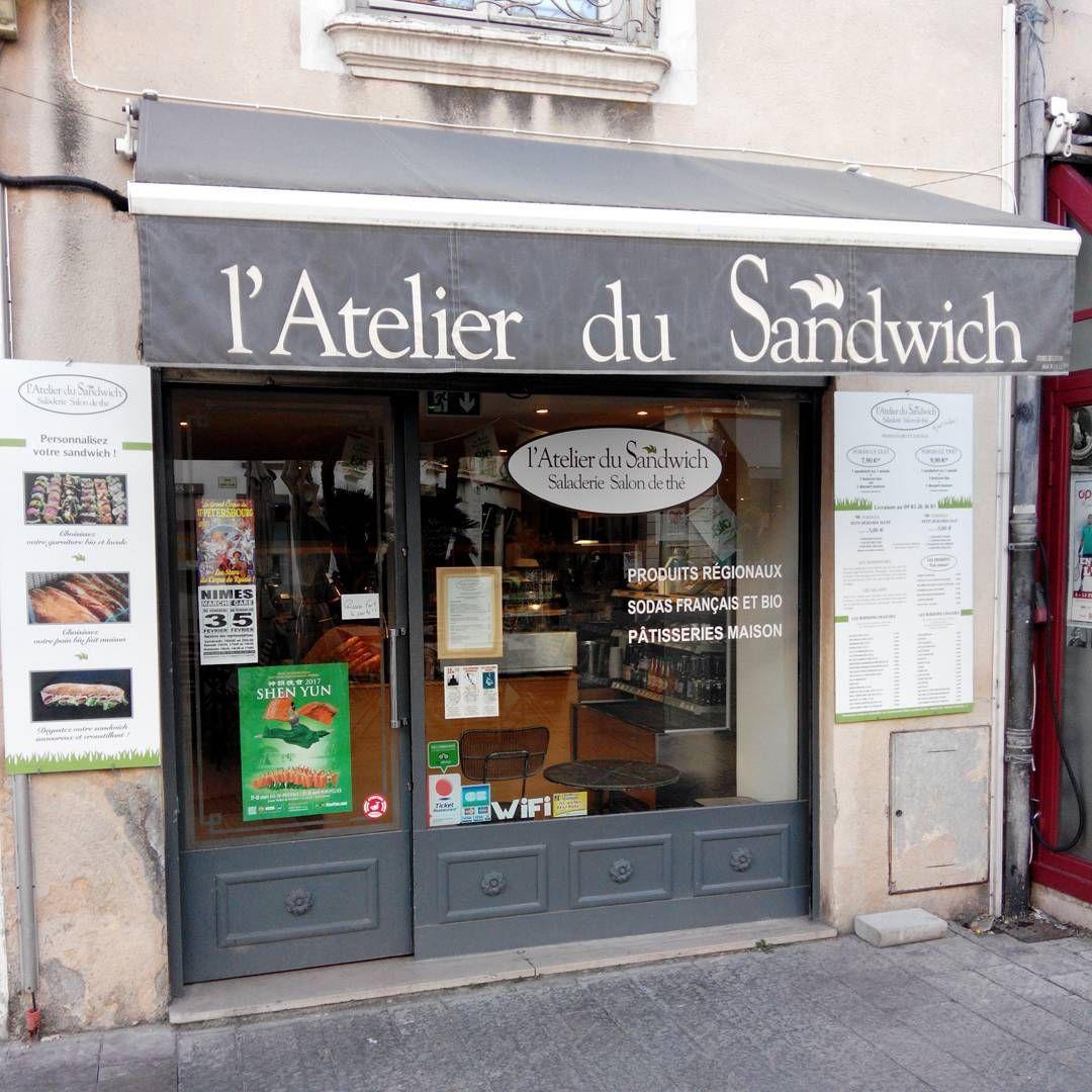 L Atelier Du Sandwich Place Bellecroix A Nimes Est Une Sandwicherie A La Francaise Qui Propose Des Ingredients Bio Et O Liquor Cabinet Restaurant Instagram
