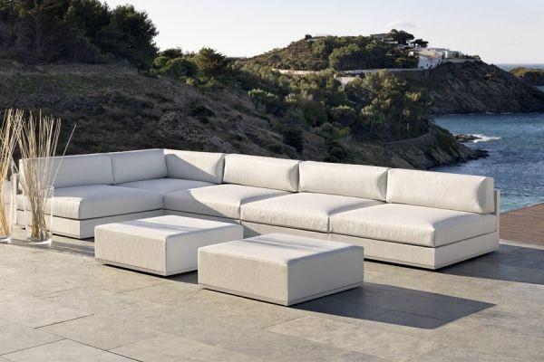 Sofa Esquinero Para Jardines Exteriores Modelo Mood Low De Bivaq - Sofas-para-jardines-exteriores