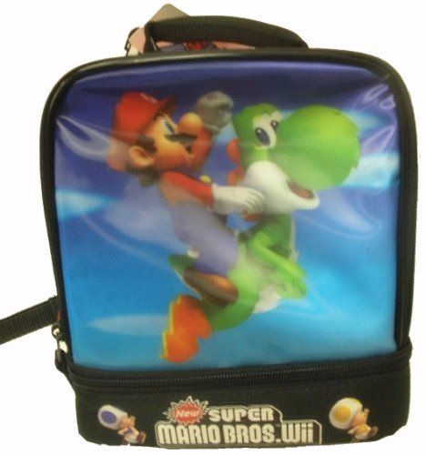 2628d46d1cbc New Super Mario Brothers Wii Lunch Box by Fast Forward. $9.95 ...