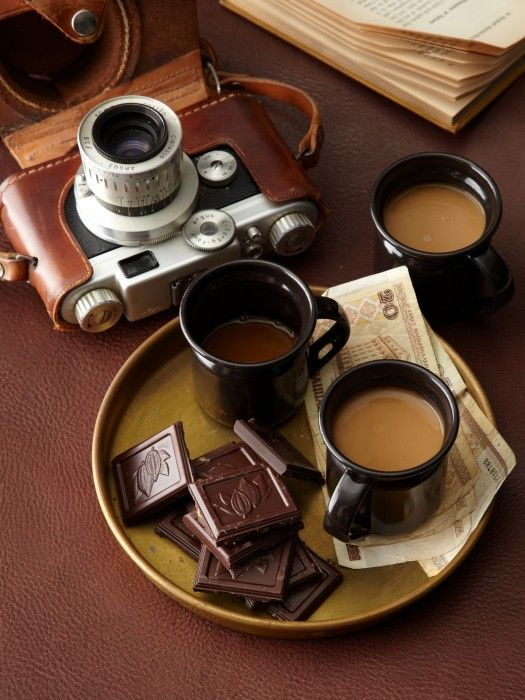 #Coffee and #chocolate, photography by Scott Eiden [NO recipe].  V