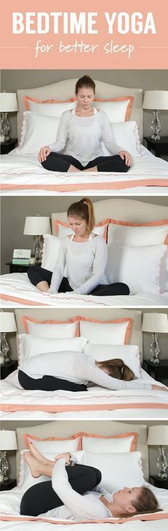 bedtime yoga stretch your way to better sleep sant yoga exercices de yoga et yoga relaxation. Black Bedroom Furniture Sets. Home Design Ideas