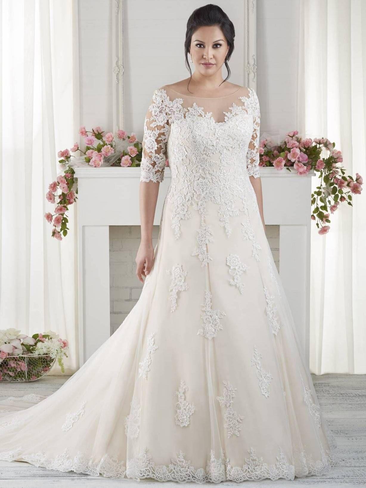 Wedding Dresses For Older Brides Plus Size Wedding Gowns Older Bride Second Wedding Dresses [ 1637 x 1228 Pixel ]