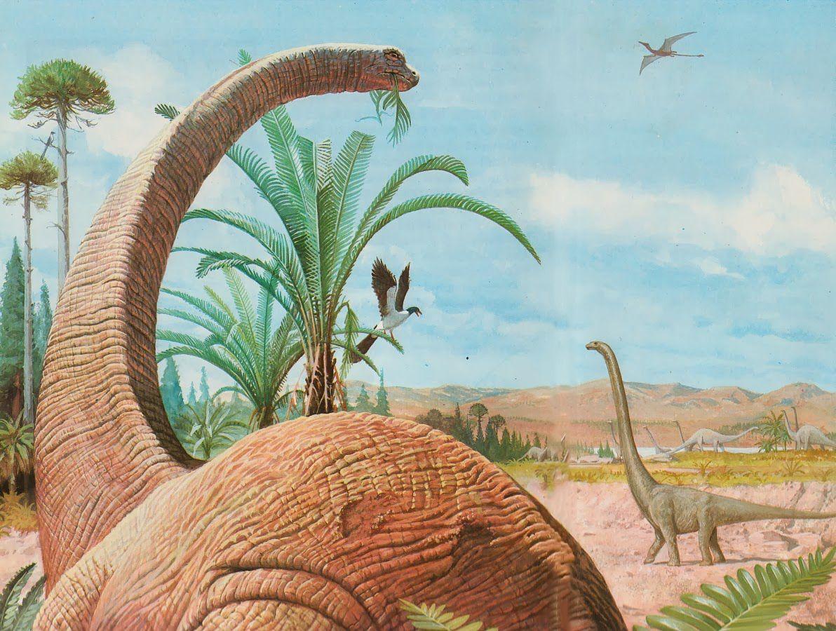 Dinosaur Vintage Art With Images Prehistoric Animals Vintage