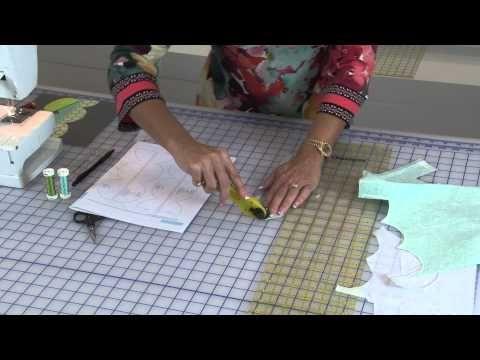 Quiltologie 4 | Fusible Applique - JULIANNA PILLOW LESSON - YouTube