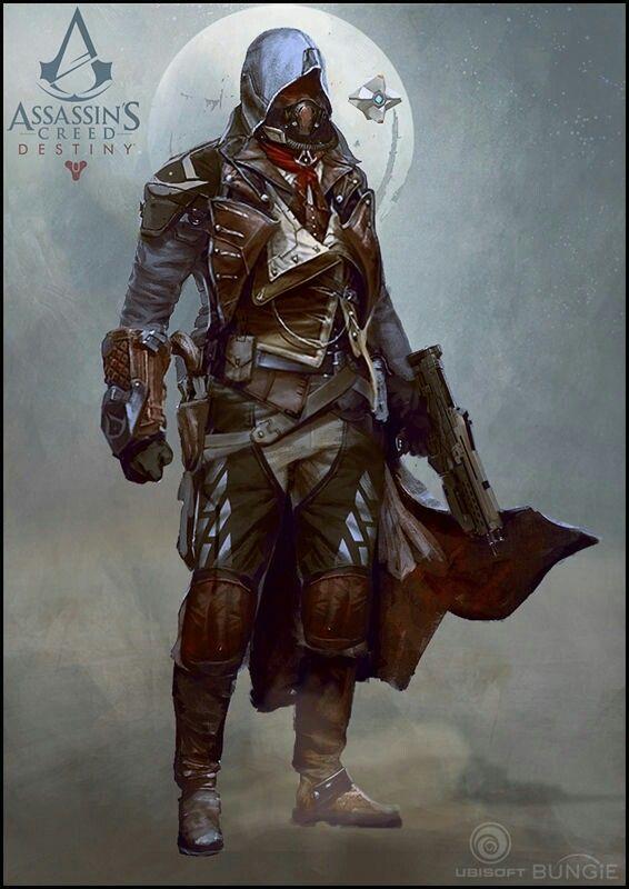 Drawcrowd Cy Lin Destiny X Assassin S Creed Assassins Creed Art