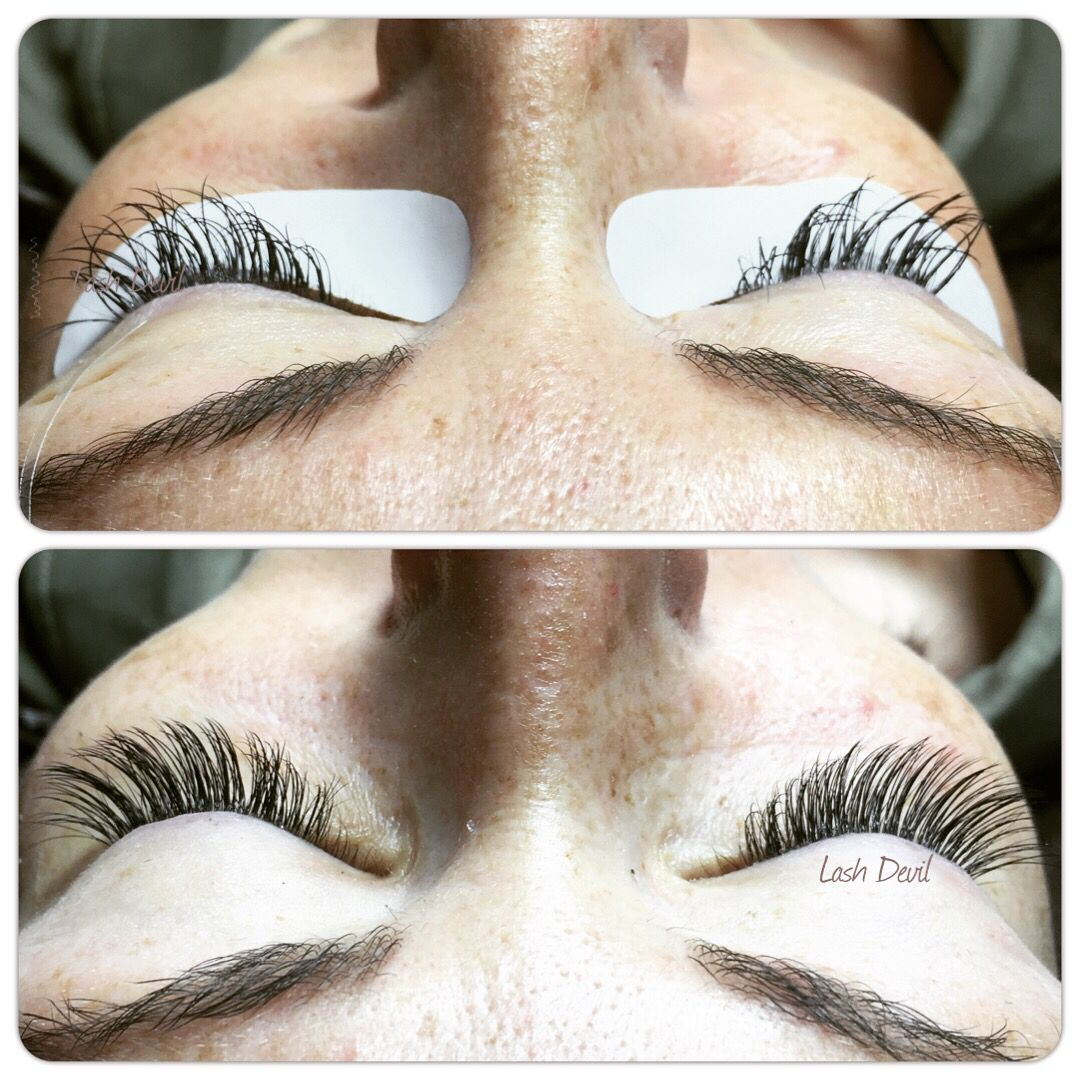 3599c40af1a Saving lashes this Christmas with classic and volume mixed technique ...