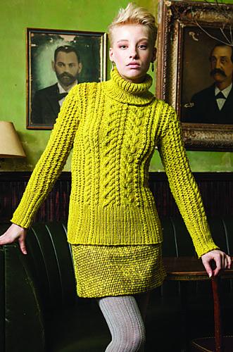 Ravelry: #12 Texture Turtleneck pattern by Lori Steinberg