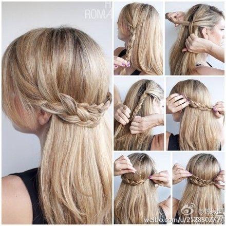 Alexandra Bauer / Pinterest  -girl hair styles