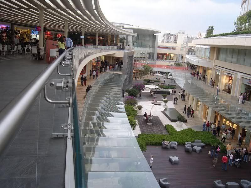 Centros comerciales antara polanco vs cidade jardim for Paisajismo urbano