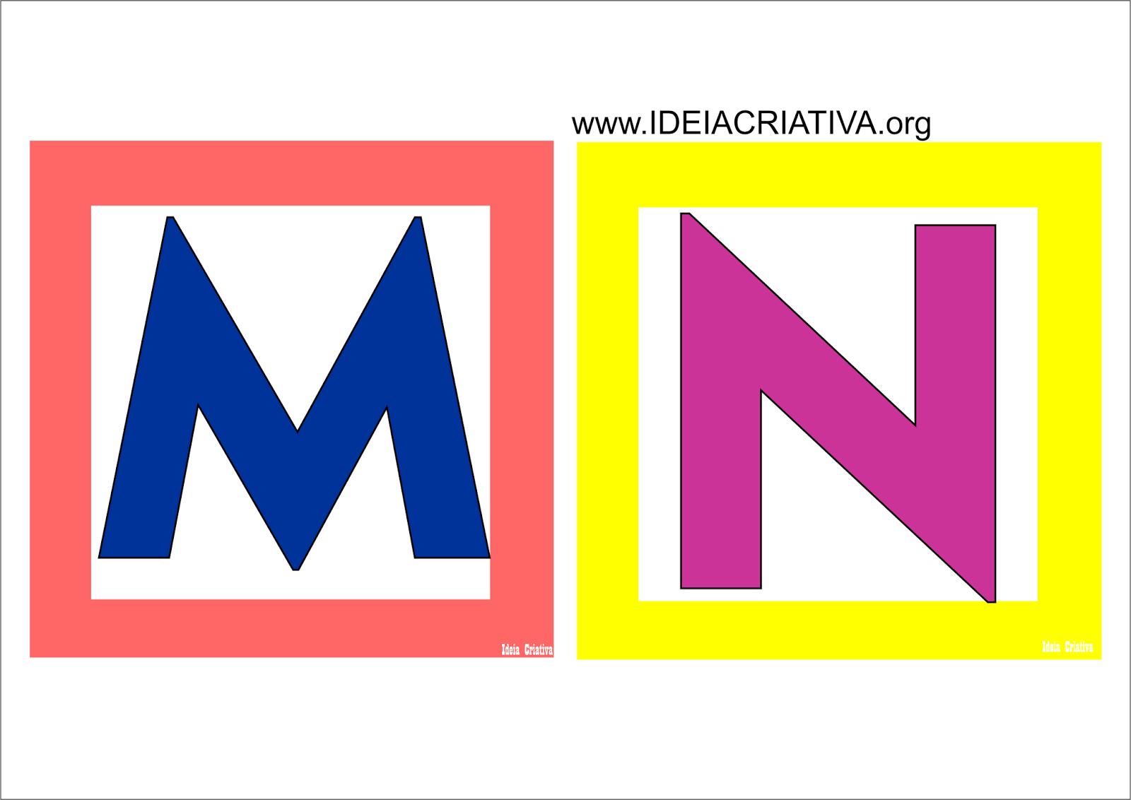Alfabeto Quadradinho Colorido Para Imprimir Gratis Alfabeto Em