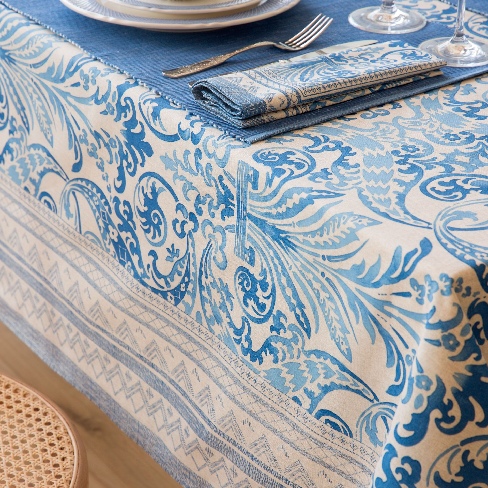 Applique designs for tablecloth - Mosaic Print Tablecloth