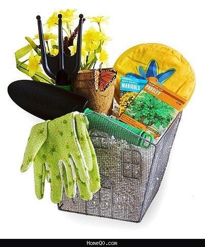 Garden Gift Basket Ideas, Gardening Basket Gift Ideas - Double ...