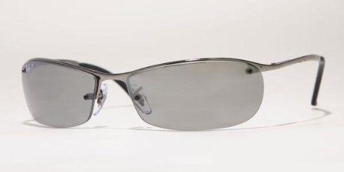 7830cbaaca5 Ray-Ban Sunglasses Rb3186 004 82 Gunmetal Polar Gray Mirror Silver Grad Ray-
