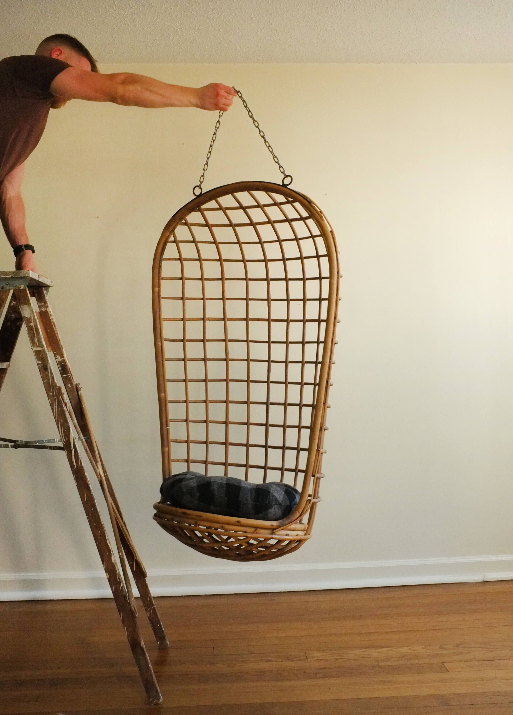 20 Off Vintage Swing Chair Hanging Egg 1960s