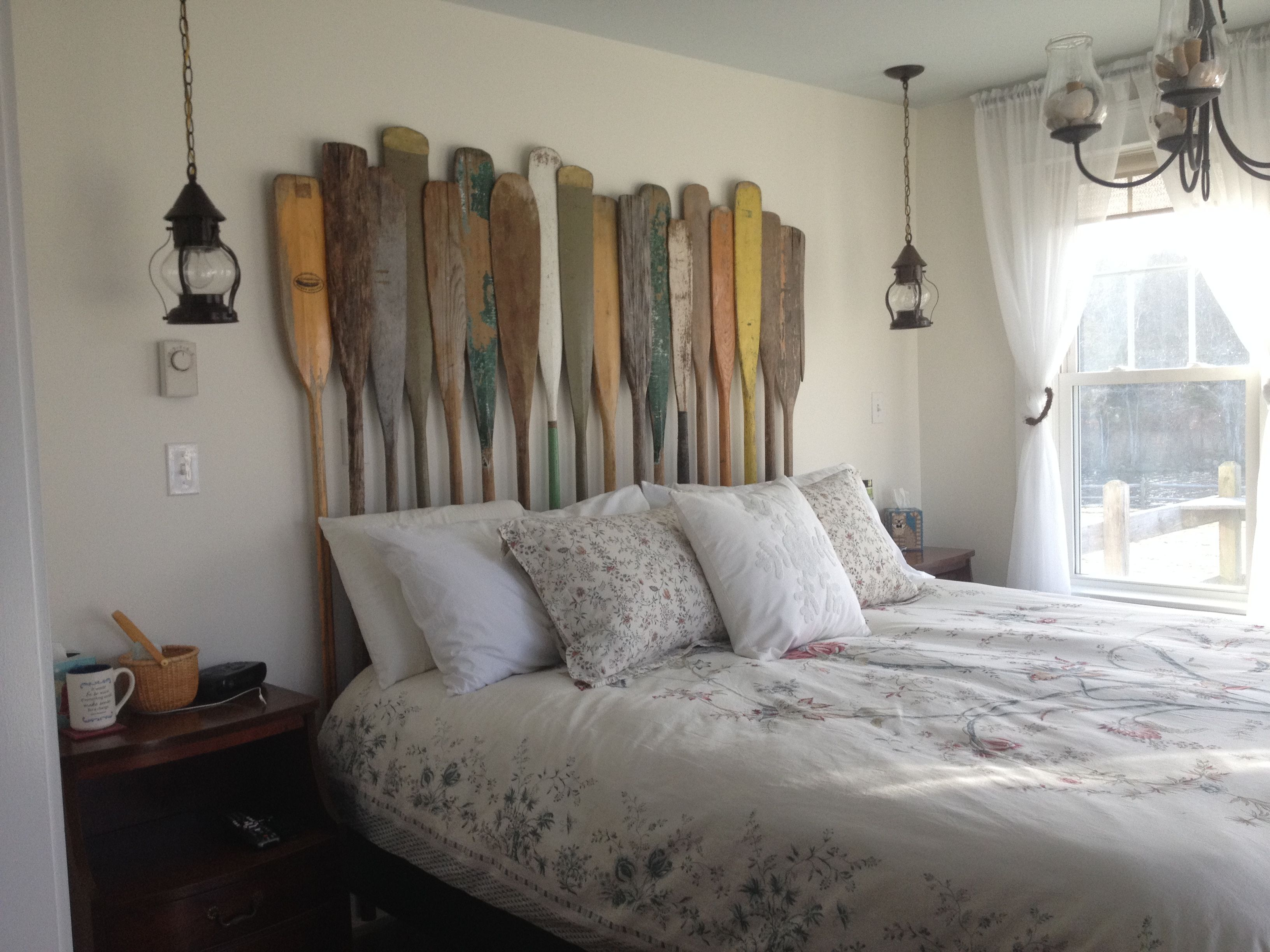 Antique Oar, Paddle Headboard