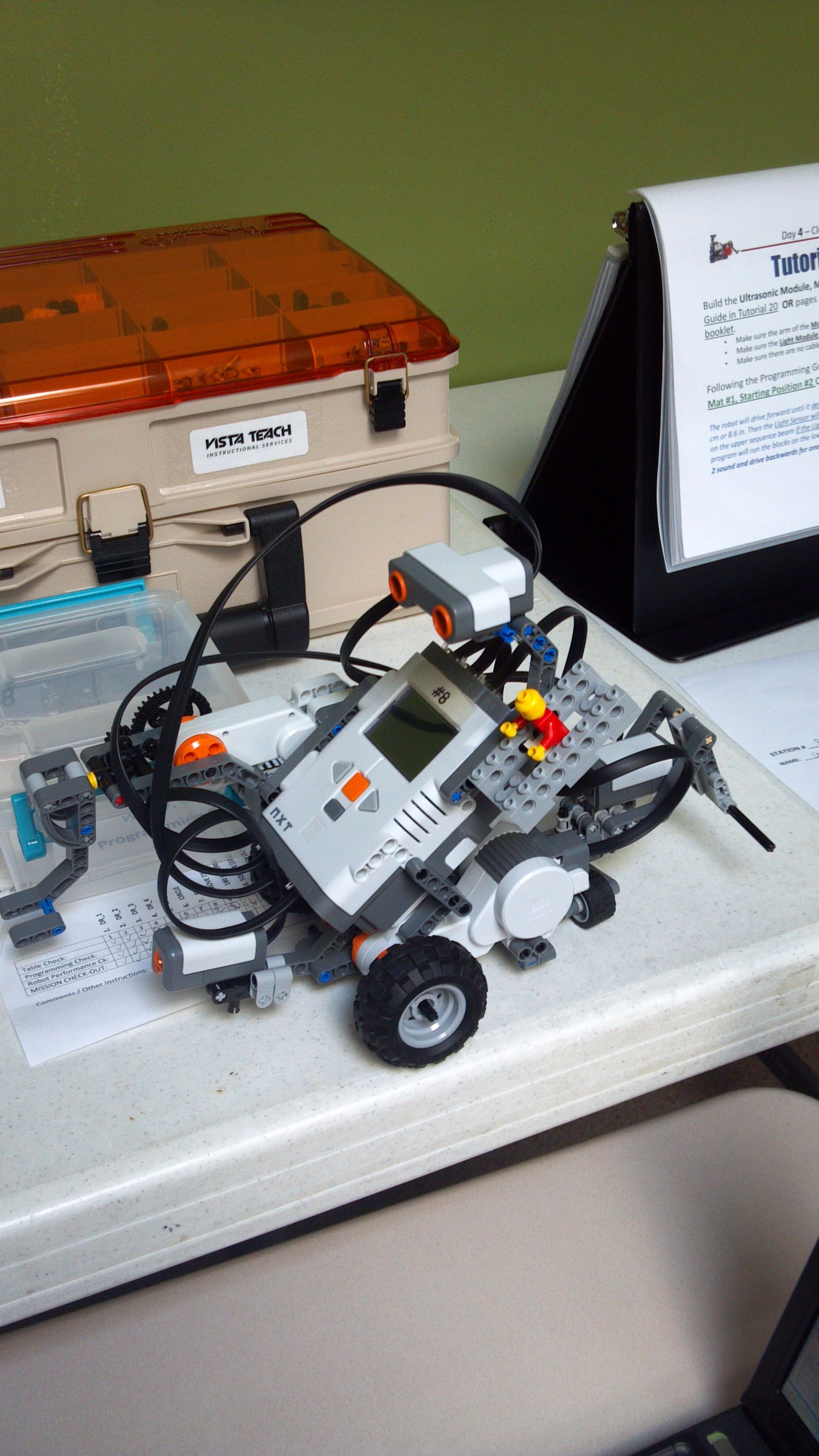 Lego Mindstorms NXT  | Team building/robotics | Lego nxt