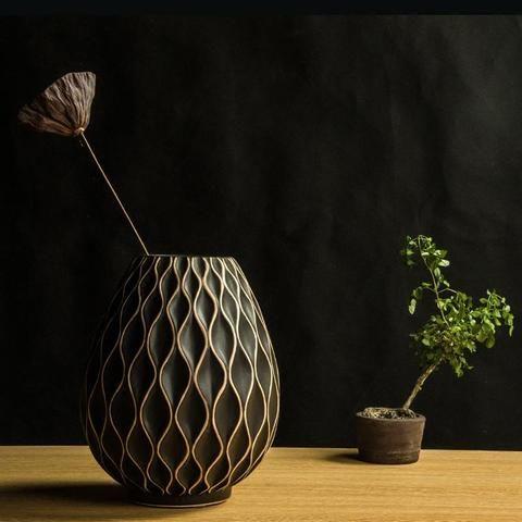 Photo of European Honeycomb Tabletop Flower Vase