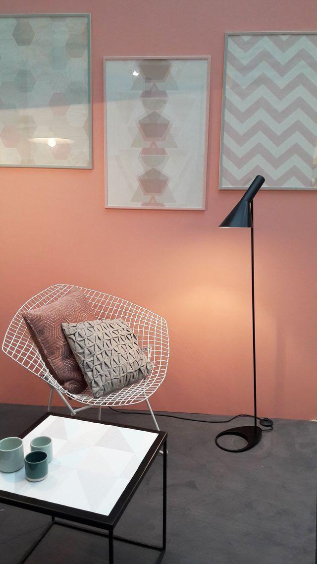 4 murs : peinture, papier peint, nouveautés 2017 | accessoire deco