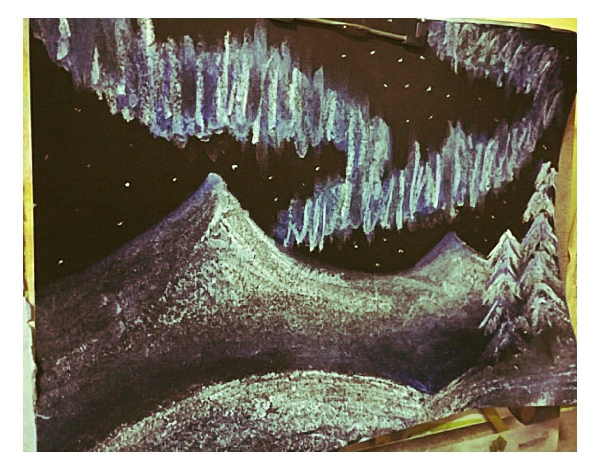 Aurora night made by me😇