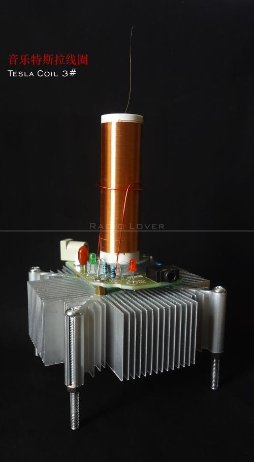 Music Tesla coil Loudspeaker with Music Tesla Coil Tesla