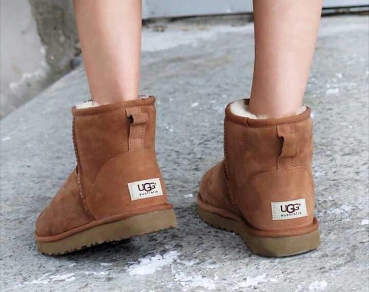 Uggs Australia Classic Mini Chestnut Ugg Boots Ugg Boots Outlets Ugg Mini