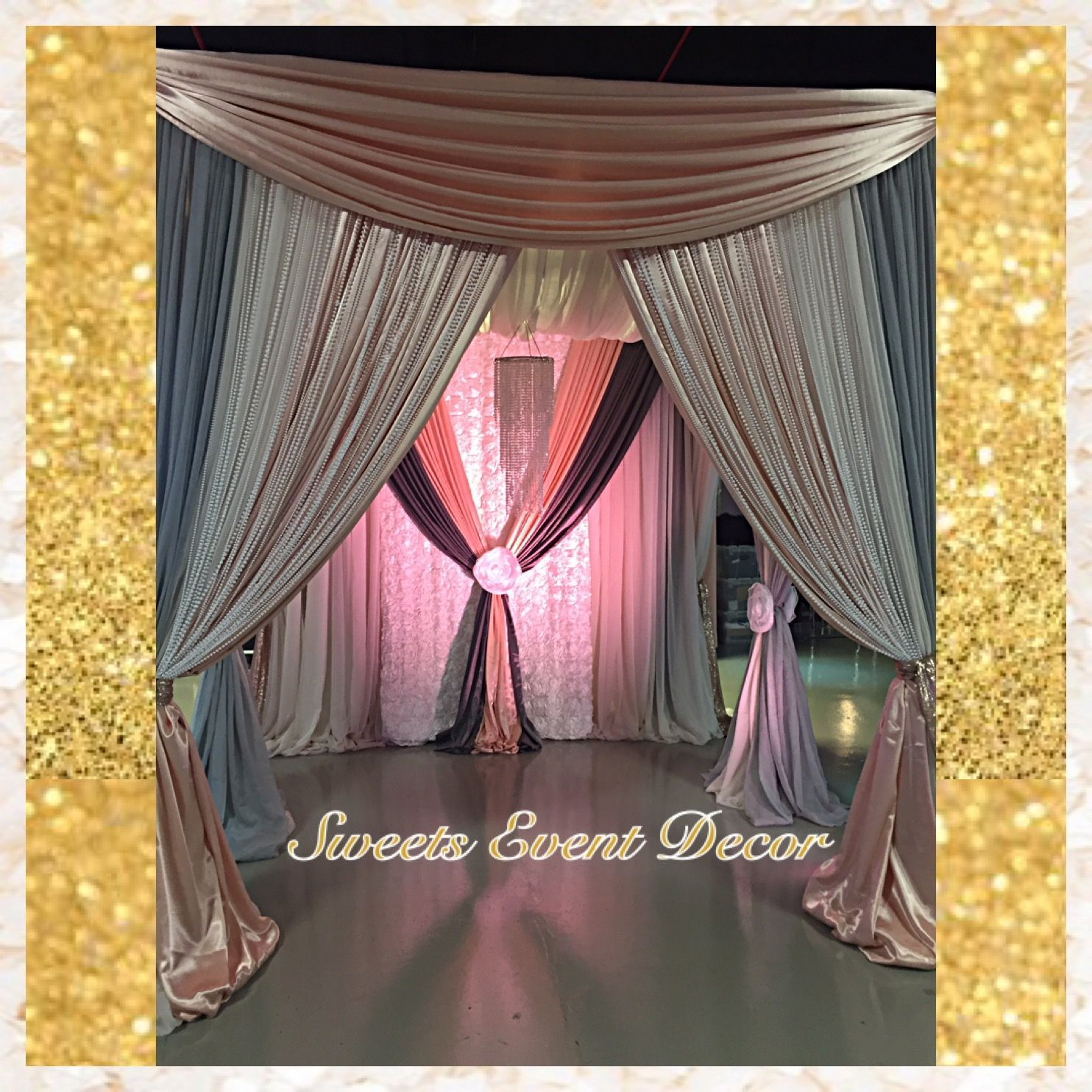 Wedding Canopy Decor by Sweets Event Decor | Tent Draping | Fabric Draping | Fabric & Wedding Canopy Decor by: Sweets Event Decor | Tent Draping ...