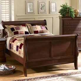 Current Bed Louis Phillipe Complete Queen Bed CLIENT FILES