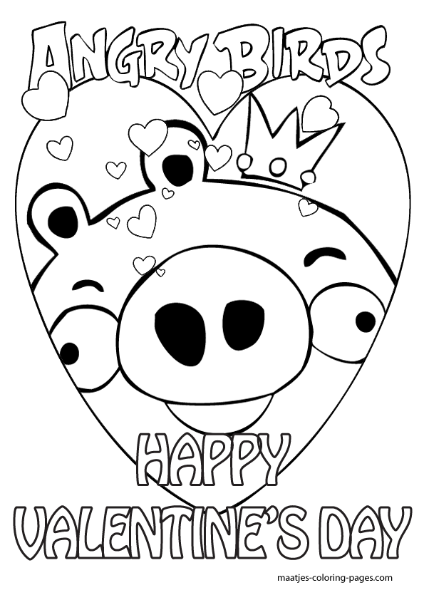 Ideal Coloring Pages Of Valentines Day