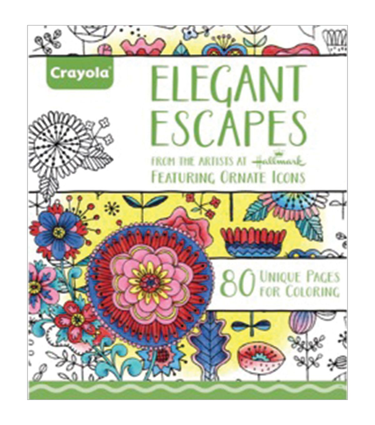 Swearing colouring in book nz - Crayola Elegant Escapes Coloring Book