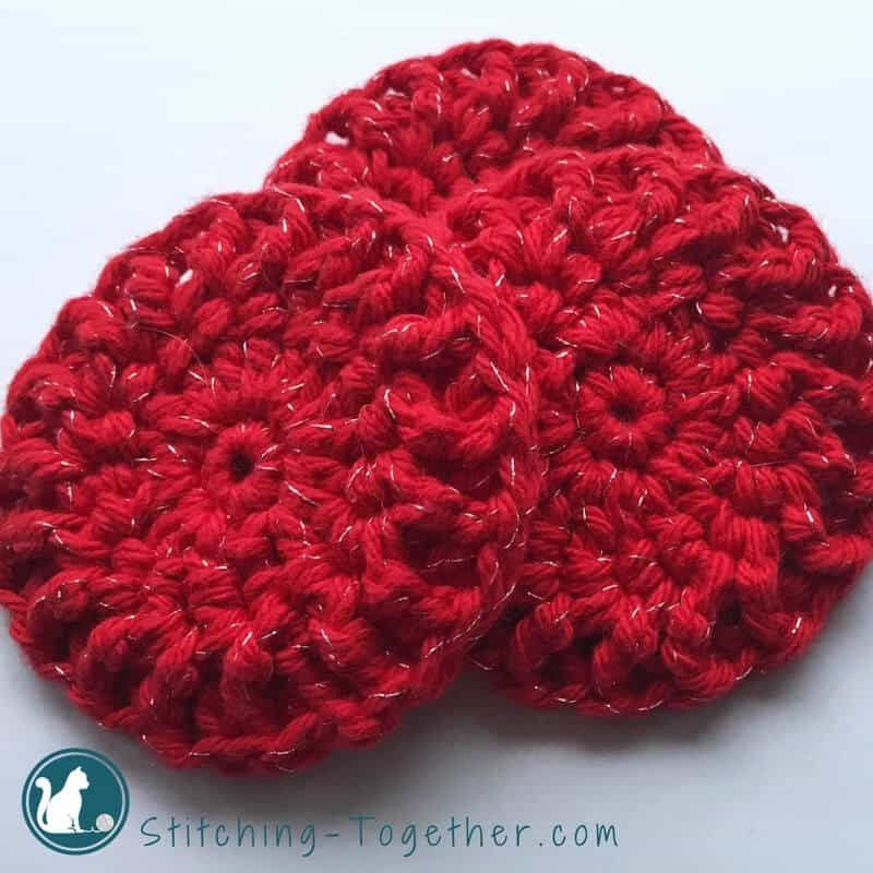 Ribbed Crochet Dishcloths and Dish Scrubbers in 2018 | Crocheted ...
