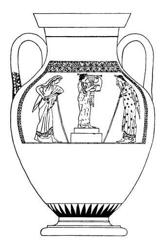 Ancient Greek Vase Template Anazhthsh Google Vasos Gregos