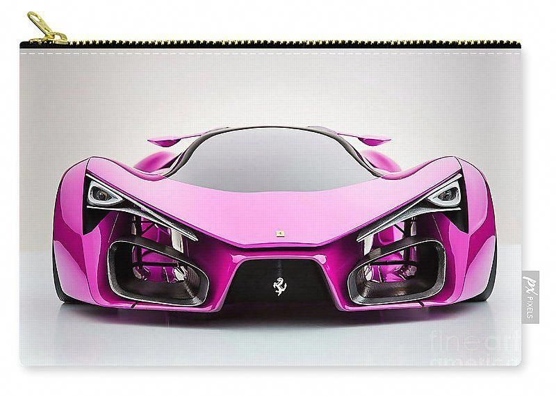 Pink Ferrari Carry All Pouch. #FerrariPink #pinkferrari Pink Ferrari Carry All Pouch. #FerrariPink #pinkferrari