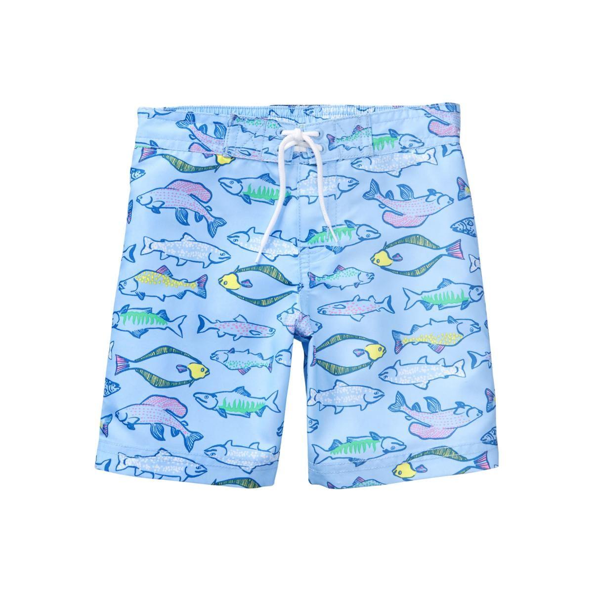 f37583140e9e0 Fish Swim Trunk | SWIM | Swim trunks, Baby boy swimwear, Fish swimming
