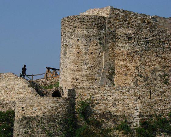 Chateau de Mornas, XIIe, XVIe siecle - Adresses, horaires, tarifs - porte d entree tarif