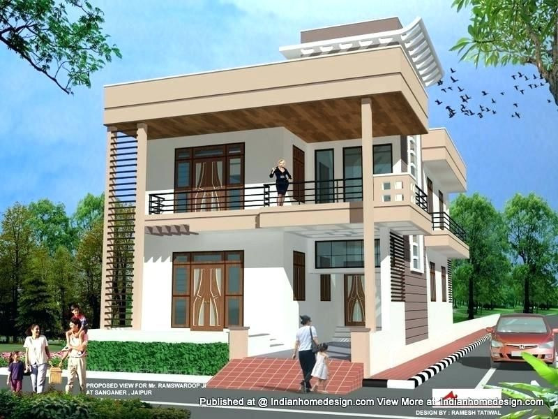 Latest Indian Single Storey House Elevation Designs Home Front Design House Front Home Eleva Small House Design Small House Interior Design House Design Photos