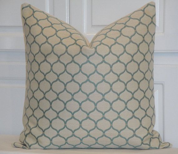 SALE  Decorative Pillow Cover  20 x 20  by TurquoiseTumbleweed, $35.00