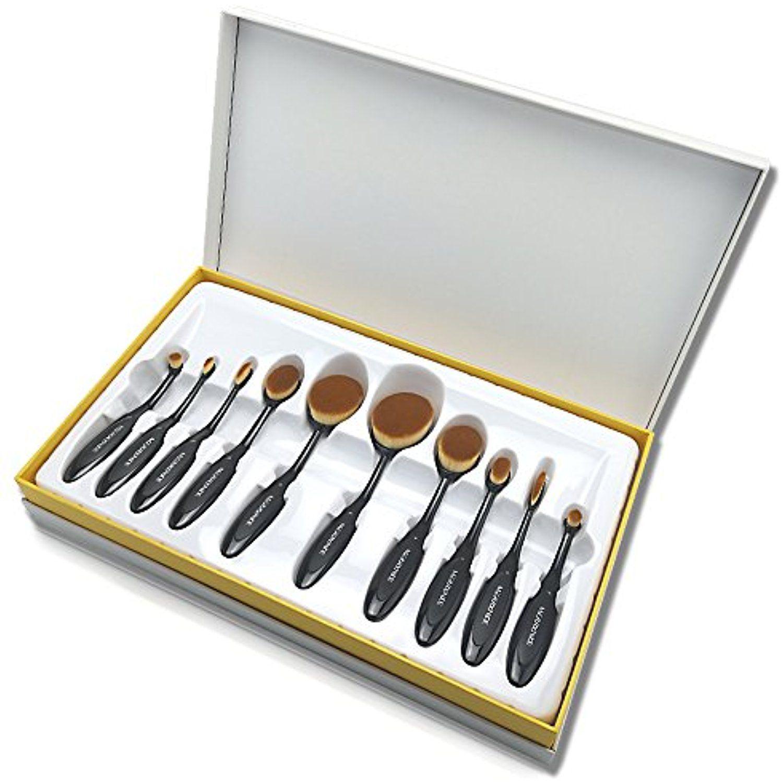 Makeup BrushesïŒMerrynice  Pieces Oval Toothbrush Makeup Brush