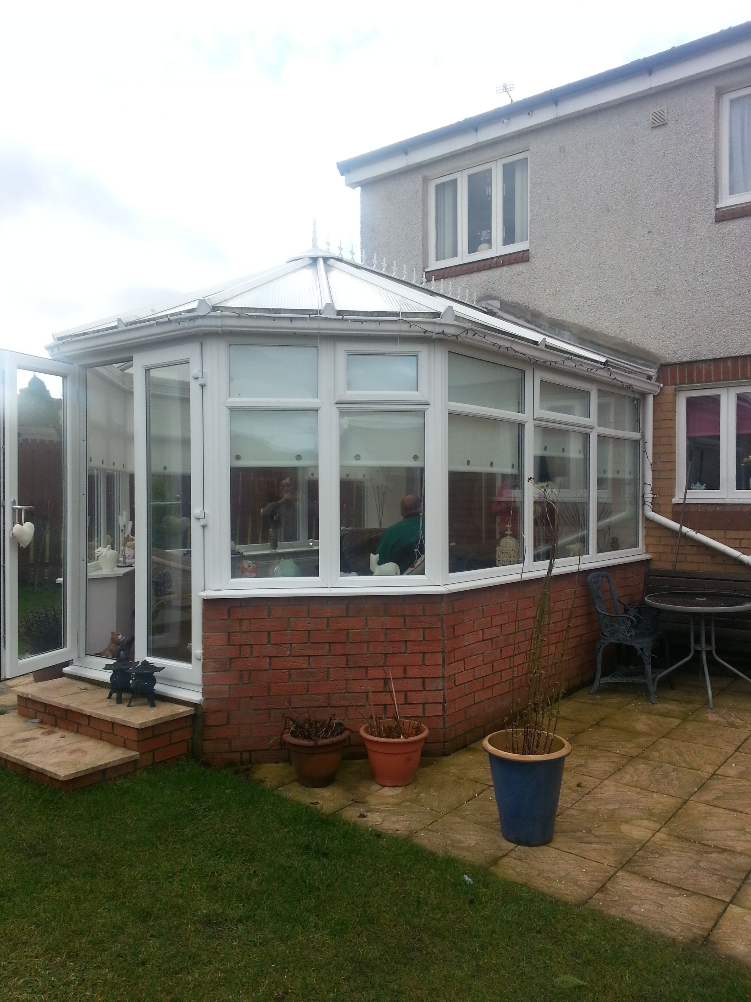 Pitched Conservatory Roof Conversion Replacement Roofconversion Conservatory Roof Conservatory Roof