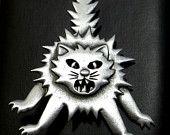 JJ Halloween Scary Cat pin brooch SALE Halloween @dollherupshop Jewelry