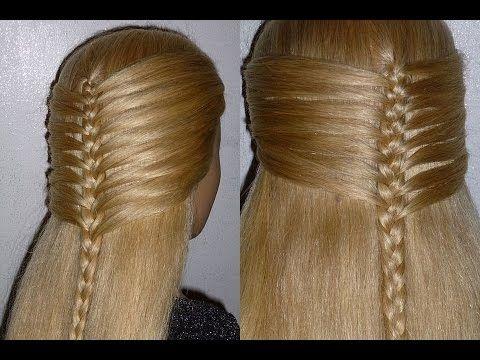 Franzosischen Zopf Flechten Zopffrisur Flechtfrisur Fur Mittel Lange Haare Braid Hairstyle Peinados Flechtfrisuren Geflochtene Frisuren Haar Styling