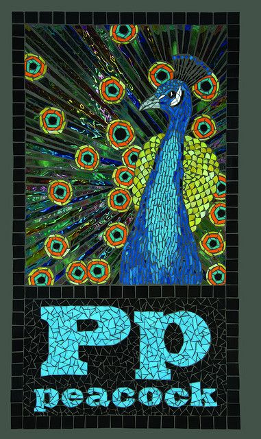 Pp Peacock by Barb Keith