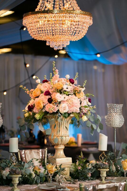 Linens Provided By: Waterford Event Rentals Design By: Botanique Events  Photography By: Amanda