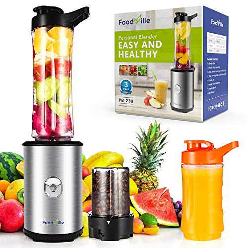 Personal Smoothie Blender with Grinding