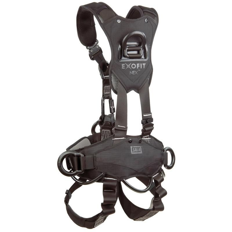 3m Dbi Sala Exofit Nex Rope Access Rescue Harness Blackout In 2020 Fall Protection Harness Harness Rescue